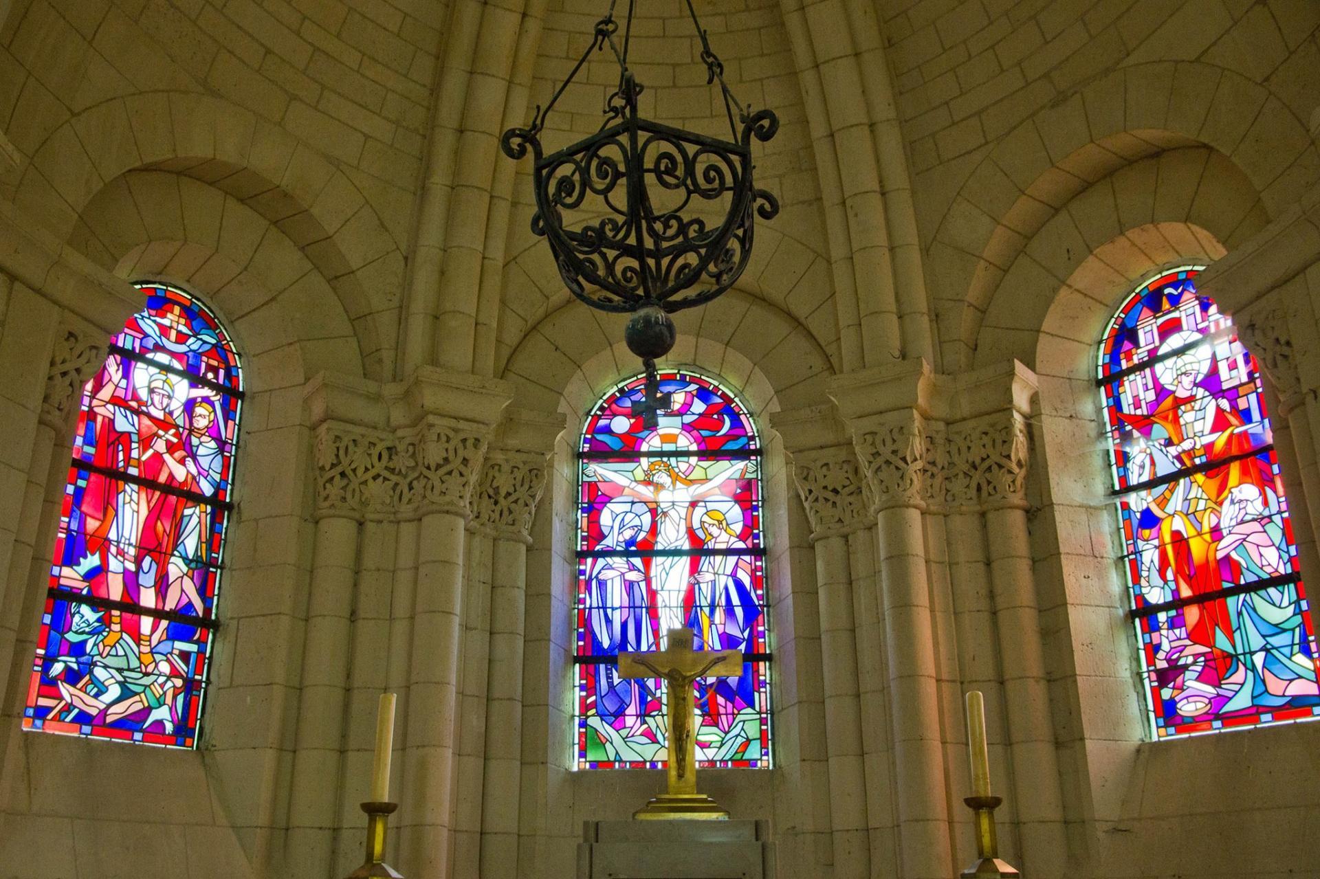 l'église Saint-Maurice d'Agaun