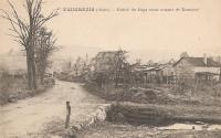 Le village vu depuis le ru
